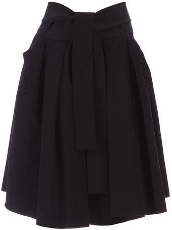 Lanvin Pleated Skirt - Lyst