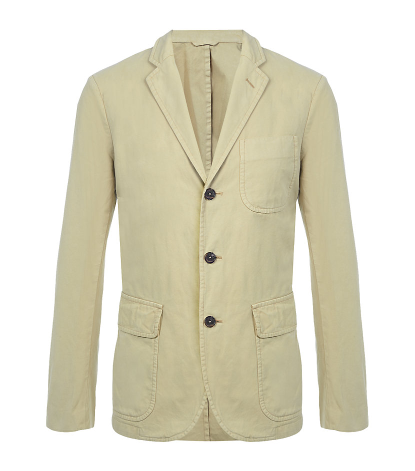 Polo ralph lauren langley sport coat in green for men lyst for Polo shirt with sport coat