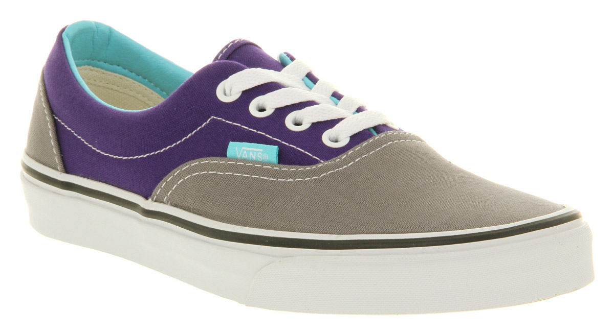 773a3277a620 Lyst - Vans Era Heliotrope Purple Steel Grey in Purple for Men