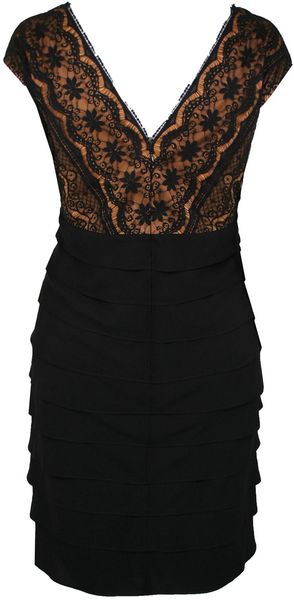 Ann Harvey Lace Shutter Dress - Lyst
