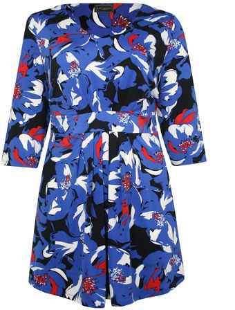 Ann Harvey Poppy Print Tunic - Lyst