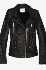 Iro Perforated Leather Jacket