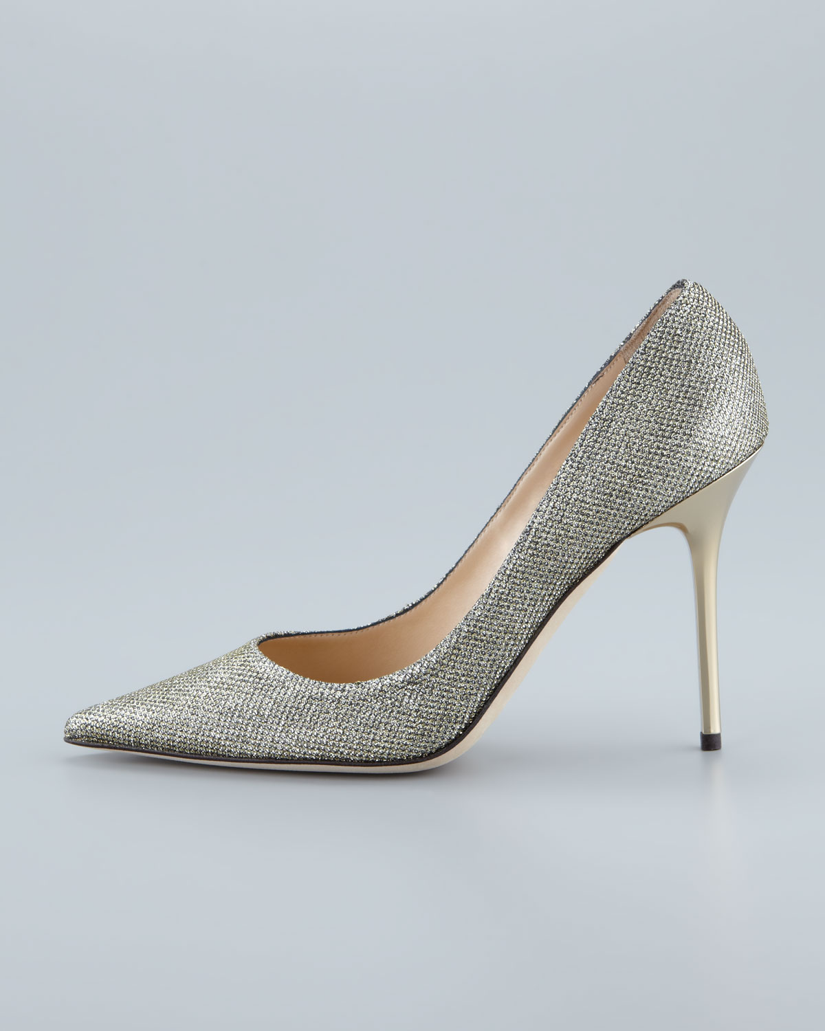 d3f810725f6 Jimmy Choo Abel Anthracite Lamé Glitter Pointy Toe Pumps  ss16  heels   fashion  Gallery