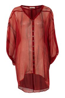 Label Lab Oversize Tie Dye Blouse - Lyst