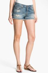 Rag & Bone The Cutoff Denim Shorts - Lyst