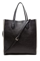 Rochas Borsa Tote in Black White - Lyst