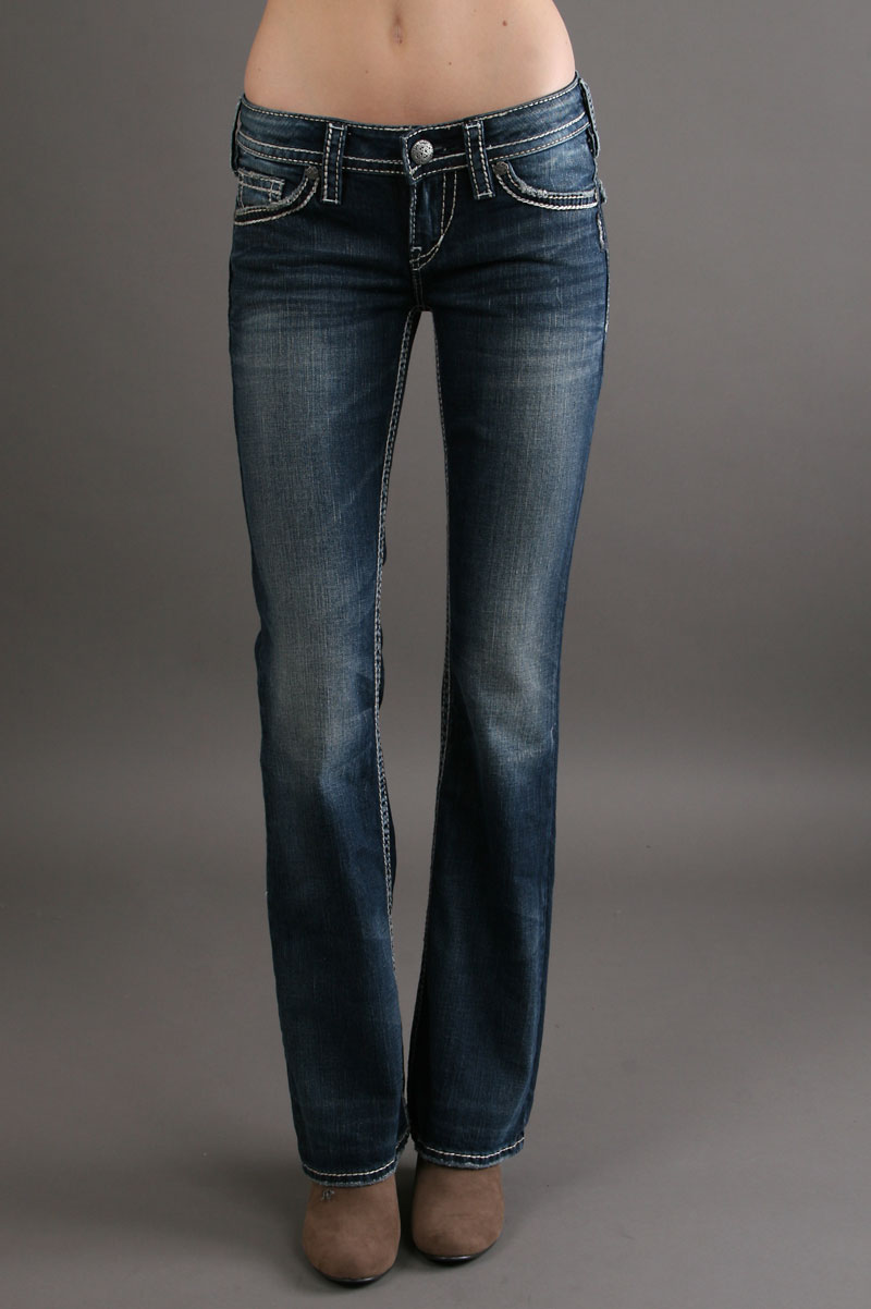 Silver Pioneer Jeans - Jeans Am
