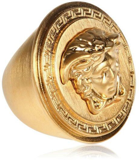 Versace Herren Ring Gold images