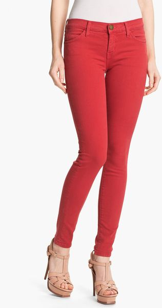 Current/Elliott The Stiletto Overdyed Stretch Jeans - Lyst