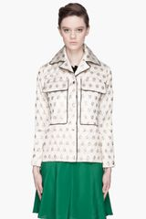 Marni Gold Quilted Polkadot Lurex Jacket