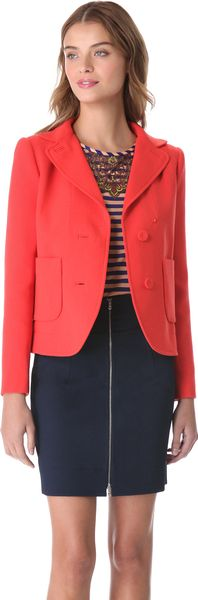 Carven Patch Pocket Jacket - Lyst