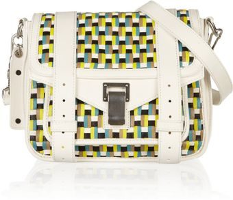 Proenza Schouler Pouch Leather Shoulder Bag - Lyst