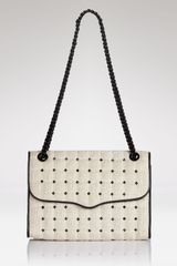 Rebecca Minkoff Shoulder Bag Linen Affair with Studs - Lyst