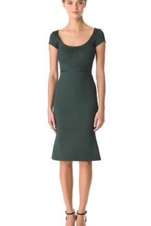 Zac Posen Bondage Jersey Dress - Lyst