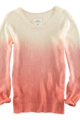 H&m Crew Neck Jumper in Orange - Lyst