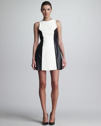 Jason Wu Racerback Combo Dress - Lyst