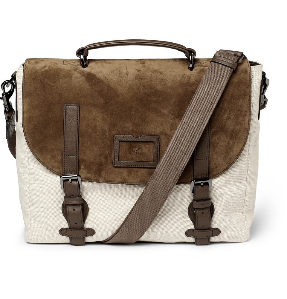 Mulberry Clipper Holdall In Brown For Men | Lyst