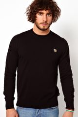 Paul Smith Jumper in Crew Neck with Zebra - Lyst