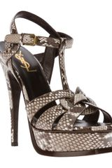 Saint Laurent Tribute Sandal - Lyst