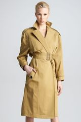 Derek Lam Cotton Trenchcoat - Lyst