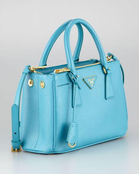 Prada Bags: Prada Handbags Turquoise