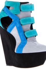 Casadei Wedge Boot - Lyst