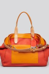Cole Haan Satchel Crosby Color Block Shopper - Lyst