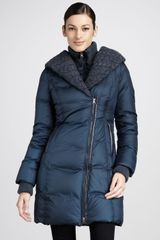 Mackage Maeve Knit Trim Puffer Coat - Lyst