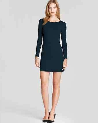 Theory Body Con Dress Kalion Long Sleeve - Lyst