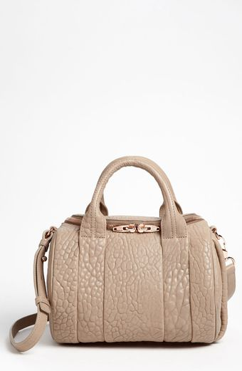 Alexander Wang Rockie Leather Satchel - Lyst