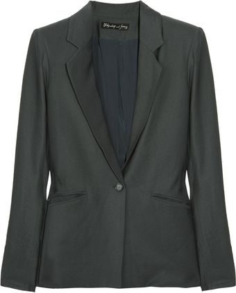 Elizabeth And James Daryl Crepe Blazer - Lyst