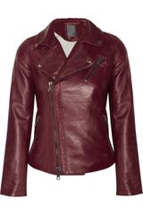 Lot78 Leather Jacket - Lyst