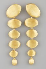 Marco Bicego Confetti Oro Gold Drop Earrings - Lyst