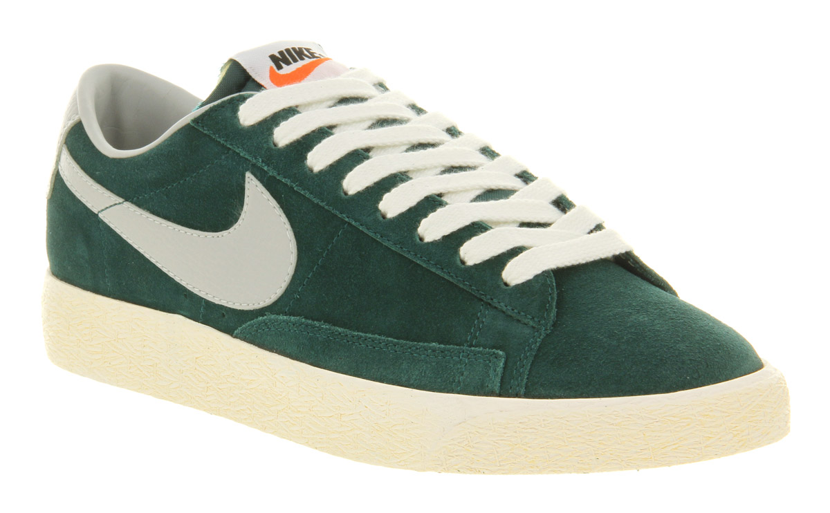 6f49437771ac amazon green black womens nike blazer low shoes f5c9d 95212
