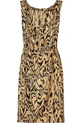 Temperley London Freeda Printed Silk Dress - Lyst
