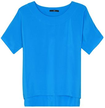 Tibi Silk Easy Top - Lyst