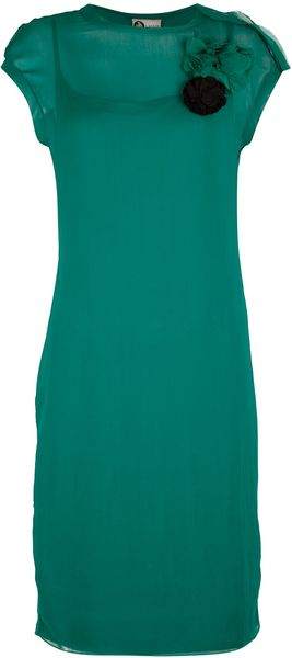 Lanvin Shift Dress - Lyst