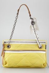 Lanvin Quilted Lamb Shoulder Bag - Lyst