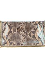 Stella McCartney Fold Over Clutch - Lyst