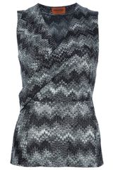 Missoni Zigzag Knit Top - Lyst