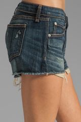 Rag & Bone Mila Short in Blue (sheffield) - Lyst