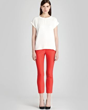 Reiss Pants Joanna Straight Leg - Lyst
