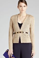 Reiss Cardigan Star Sequin - Lyst