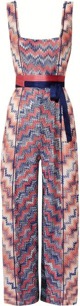 Missoni Crochet knit Jumpsuit - Lyst