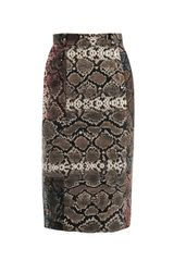 Preen Sahara Print Pencil Skirt - Lyst