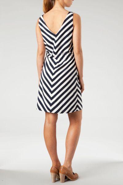 Tommy Hilfiger Bernice Stripe Sleeveless Dress In
