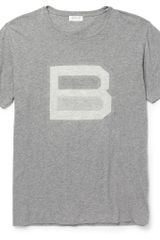 Balenciaga Crew Neck Cotton Logo T-Shirt - Lyst