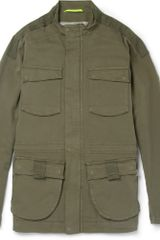 Lot78 Cotton-blend Field Jacket - Lyst
