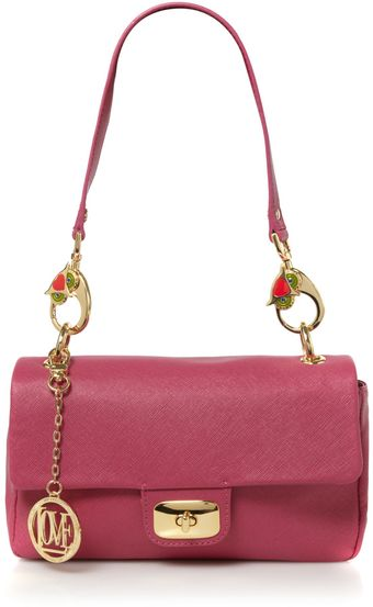 Love Moschino I Love Puppies Chain Shoulder Bag - Lyst