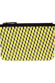 Pierre Hardy Large Cubist Canvas Clutch - Lyst